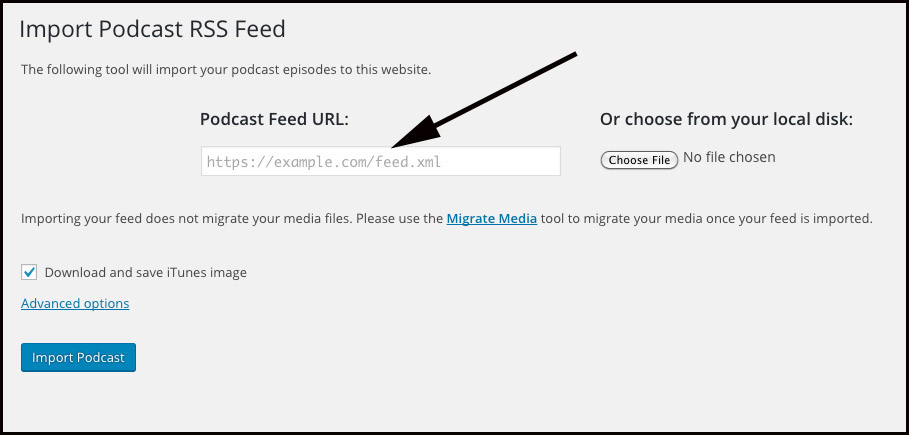Import Your Podcast from Any Podcast RSS Feed - Blubrry